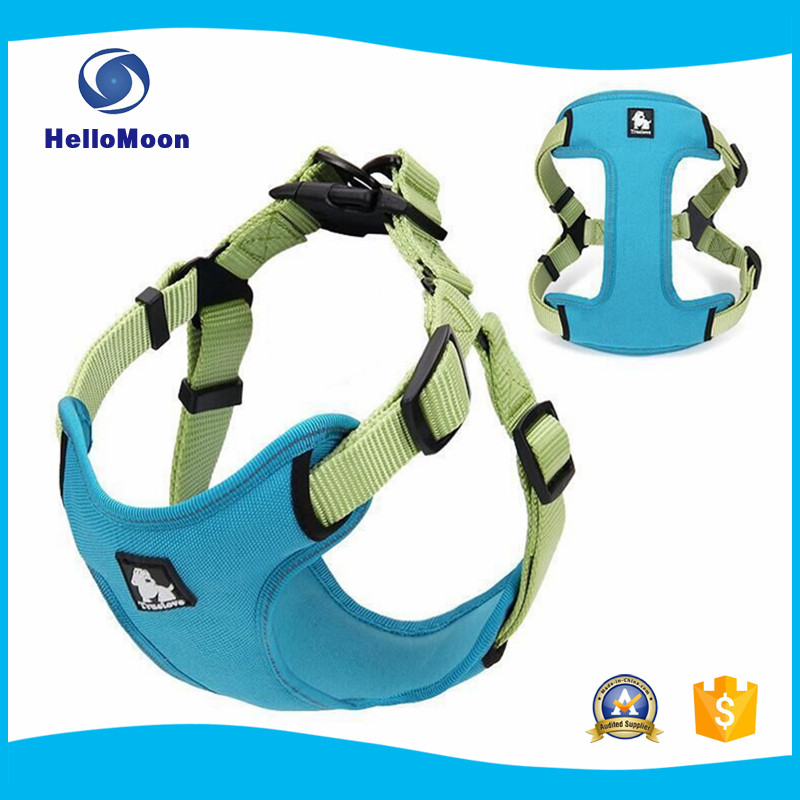 New Design Reflective Adjustable Nylon Harness Pet Dog Article