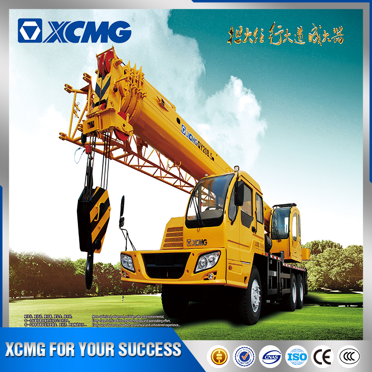 2017 official XCMG cheap price hydraulic arm off road crane QY20B.5
