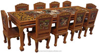 Ramayana Teak Wood Dining Table 10 (T)