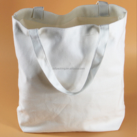 Favorable price blank canvas wholesale cotton tote bags, canvas bag blank