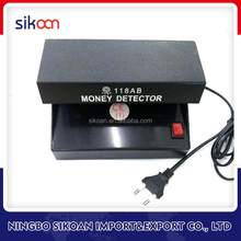 Professional UV Lamp Light 4W Longwave AA Battery Operated Ultraviolet Counterfeit Money Currency Detector