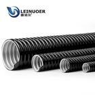 LNE-JSH 304 steel flexible corrugated pvc conduit for electrical cable protection