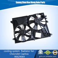 automobile car Accessories cooling system Radiator fan/electrical fan support for chevrolet captiva auto parts No.96629064
