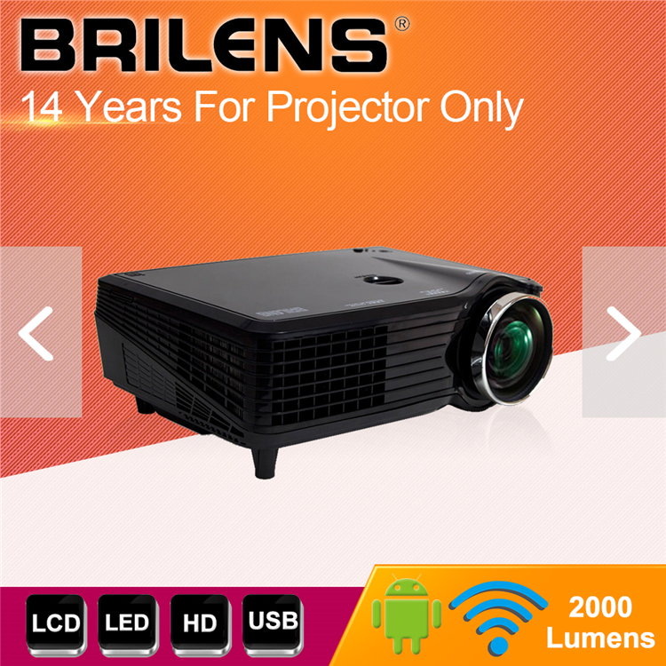 Highlight smart 3d polarizer projector