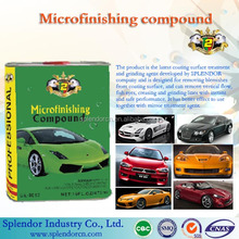 Microfinishing compound wax(liquid)/ car wax supplier/Microfinishing compound