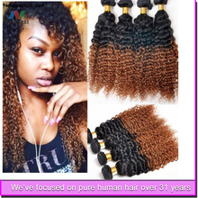 "Guangzhou Supply Top Qualty 18"" number 2 hair extensions virgin brazilian beautiful curly hair"