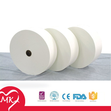 100% original ultra soft organic spunlace nonwoven fabric for sanitary napkin or disposable underwear