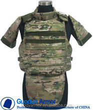 High Ballistic Performance Military and Tactical NIJ IIIA Full Protection Bulletproof vest/ bullet proof jecket for sale
