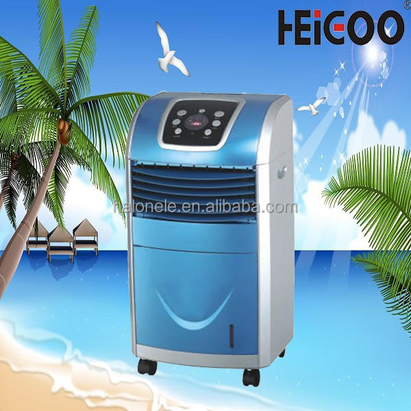 Conditioning Type Electric Panel Air Cooling Fan , Air Multifunction Fan Cooling /Heating /Humidifying