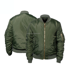 Military army green bomber jacket pilot winter tactical jacket