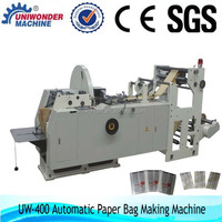 full automatic high speed machine to make paper bag