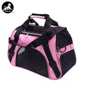RoblionPet China Factory OEM Airline Approved Dog pet carrier cat travel bag