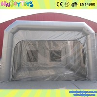 Cheap mobile car inflatable paint booth/used spray booth for sale