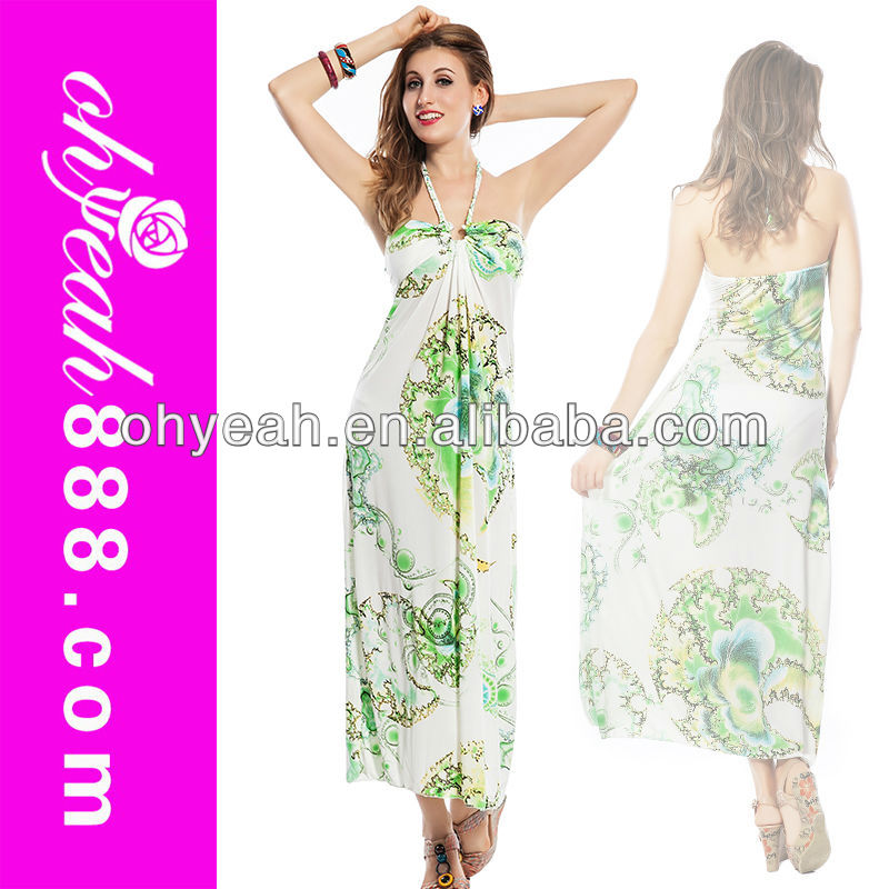 Exotic wholesale long new design maxi dress sleeveless sexy summer long dresses from thailand beachwears