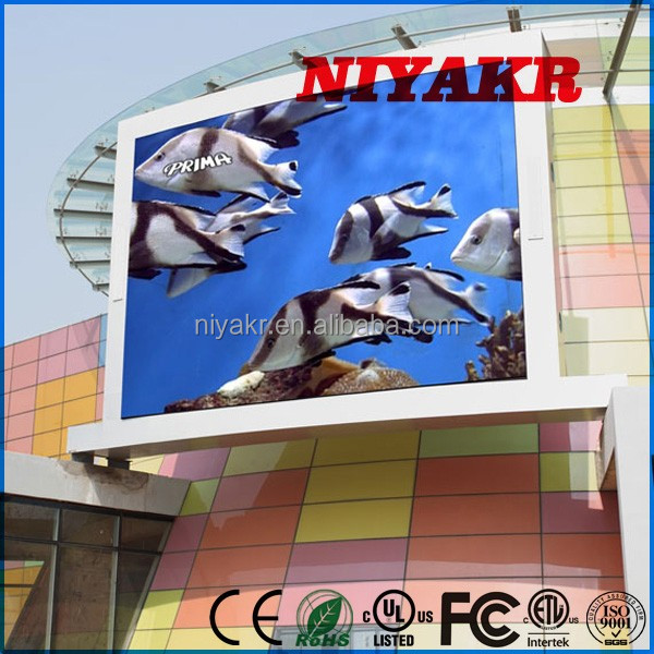 china wholesale alibaba express in furniture full color video outdoor programmable scrolling led sign