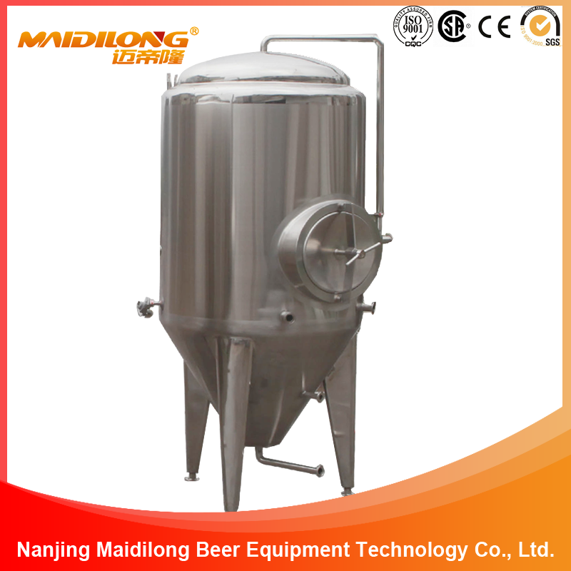 5HL German Style Stainless Steel Conical Alcohol Fermenter
