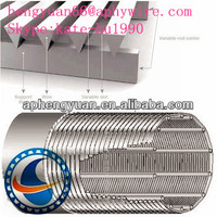 stainless steel v wire johnson well screen pipe uesd in water well