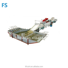 potato washing drying waxing sorting machine Fruit Washing Line