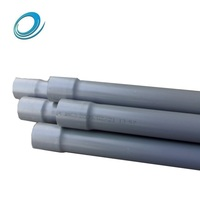 0.6Mpa 2 inch 9 inch large diameter pvc water supply pipe for irrigation