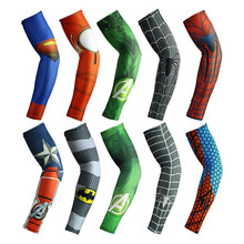 OEM Service Wholesale Sportswear Custom Adult Printed Breathable L Arm Sleeves Dry Fit