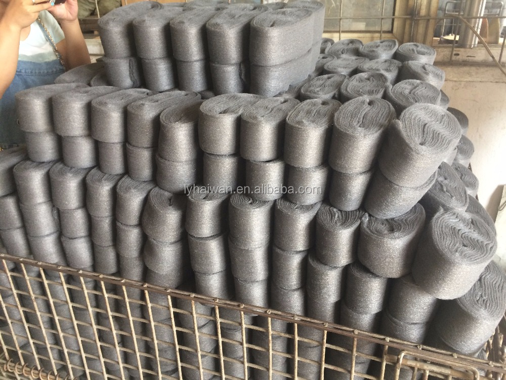 The best quanlity steel wool in row,big roll steel wool,factory outlets
