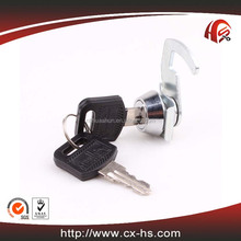 HS108 Zinc alloy die-cast housing and cylinder hardware fitting cabinet D15.6 brass key antique cam locks