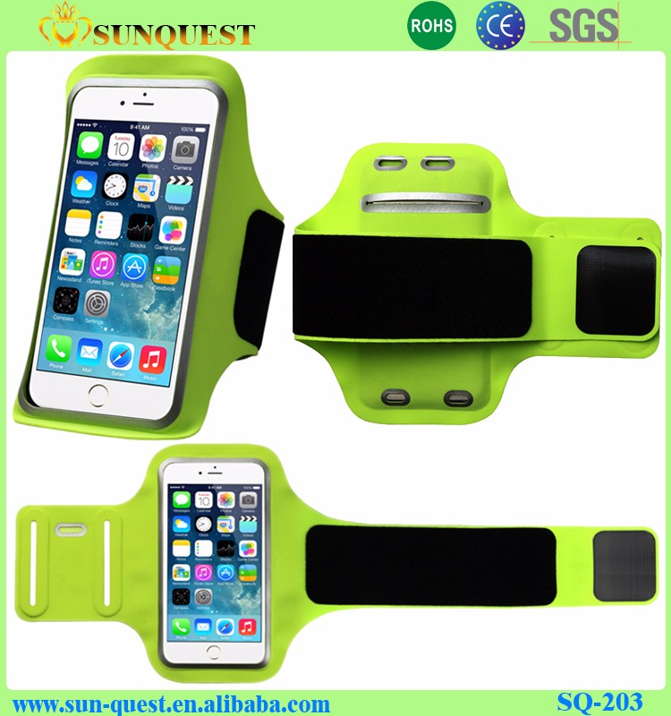 Factory wholesale sport armband cellphone for running for iphone samsung mobile phone