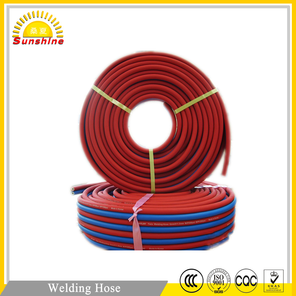 Oxygen Acetylene Twin Welding Hose For Air