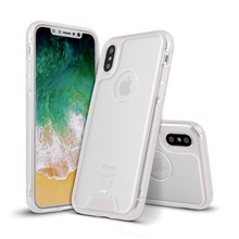 Wholesale Cell phone Cover Transparent Acrylic Phone Case for iPhone X,Acrylic TPU Case For Iphone X case