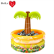 Commercial party inflatable palm tree water ice drinking cooler