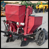 two lines or one line Potato seed drill