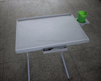 Multifunction portable laptop table