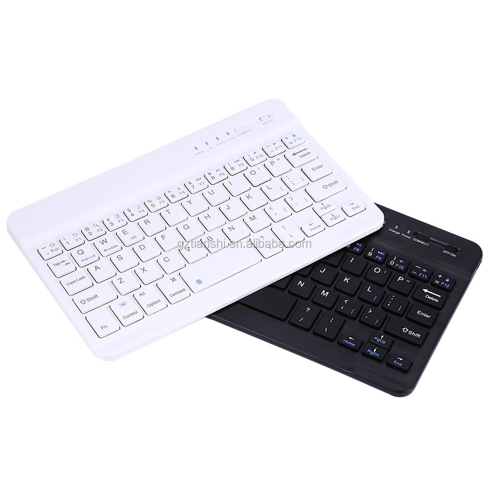 Ultra Slim Multimedia Portable Wireless Mini Bluetooth Keyboard for Android Windows iOS Tablet PC