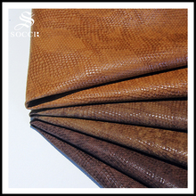 OEM new product pu coated super stretch synthetic leather for shoe