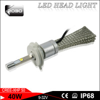 Best selling Rocket R3 xhp 70 led headlight bulbs h4 12V 35W super bright led headlight bulb h4