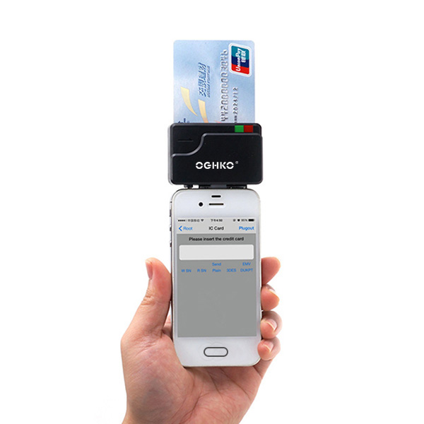 Smart mobile phone Android iOS system magnetic and chip card reader head - ANKUX Tech Co., Ltd