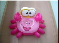 Anbel high quality cheap inflatable crab toy