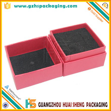 2017 Factory Cheap Price Custom Logo Gold Foil Cardboard Cheap Jewelry Boxes Wholesale Guangzhou