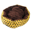 2016 New arriving Soft Warm Fleece Pet Dog Puppy Cat Bed House Nest
