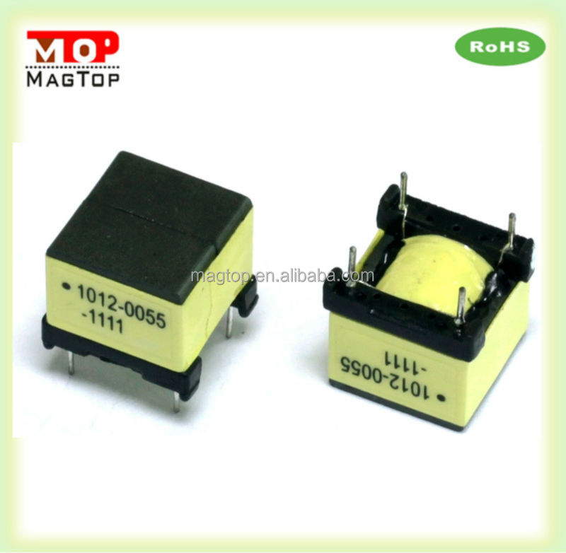 OEM high frequency transformer PCB mount in ferrite core for switching power supply