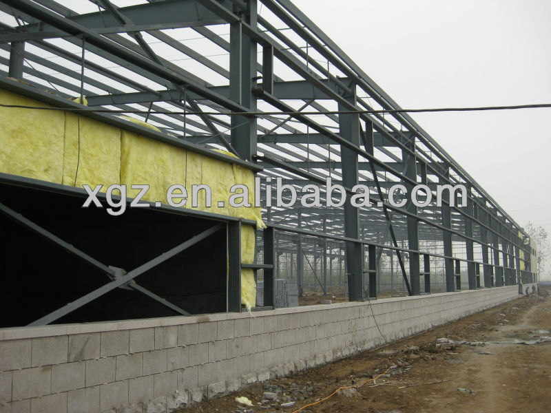 how much light steel structure warehouse construction costs
