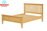 oak furniture bedroom furniture king Size wooden bed