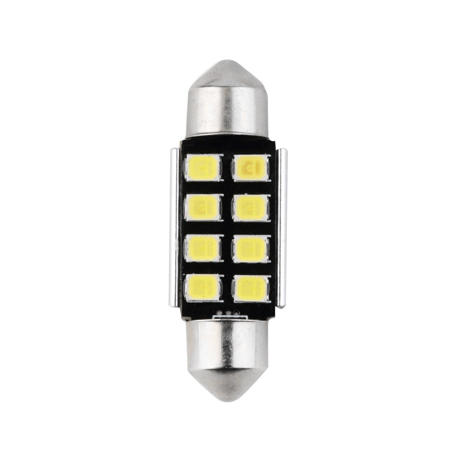 Festoon 8 SMD 36MM Car LED Bulbs Interior Dome Festoon Lights auto roof lamp White 12V