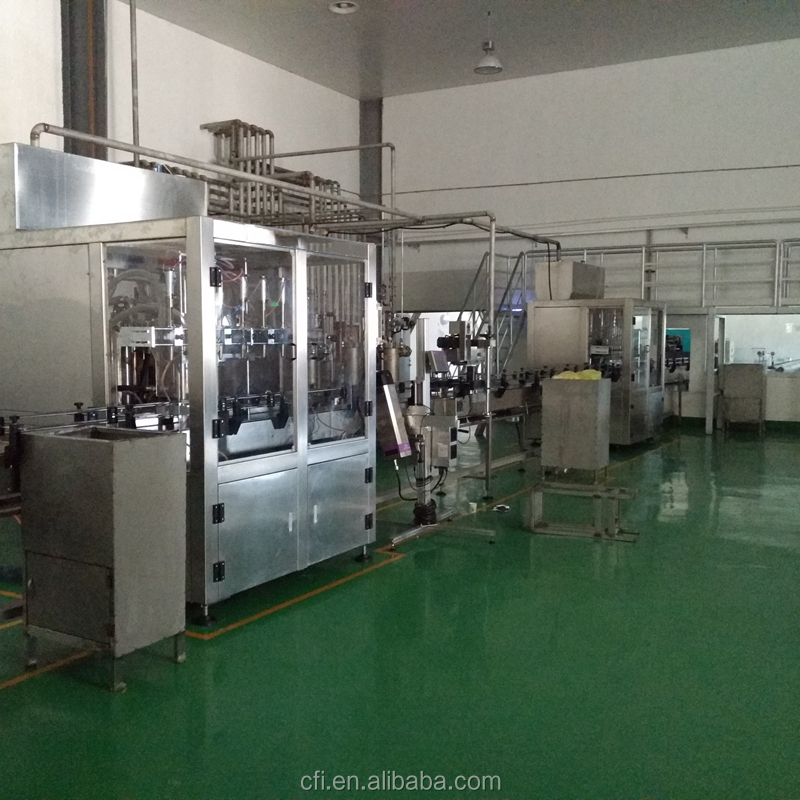 spring water bottle filling manufacturing plant
