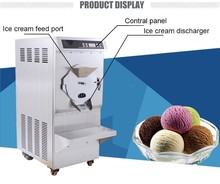 Hot Sale Commercial batch freezer hard ice cream machine