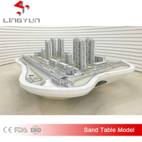 High Quality Abs Building Scale Model For Construction & Real Estate