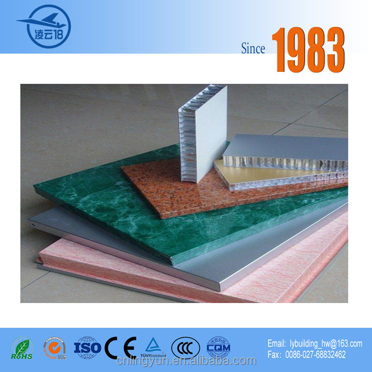 Decorative curtain wall Aluminum Honeycomb Panel