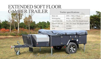 Extend Side Folding Camping Trailer (RC-RM-04)