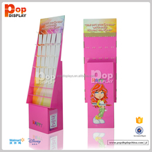 cardboard pink display stand