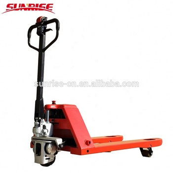 1500kg Semi Electric Hand Pallet Jack battery pallet jack with CE